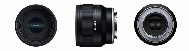 Tamron анонсирует продажи объектива 20mm F/2.8 Di III OSD M1:2 (Model F050)