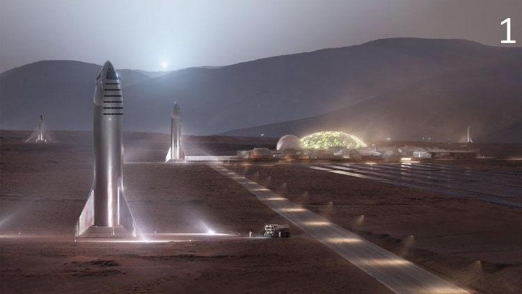 Илон Маск приступил к колонизации Марса в Твиттере