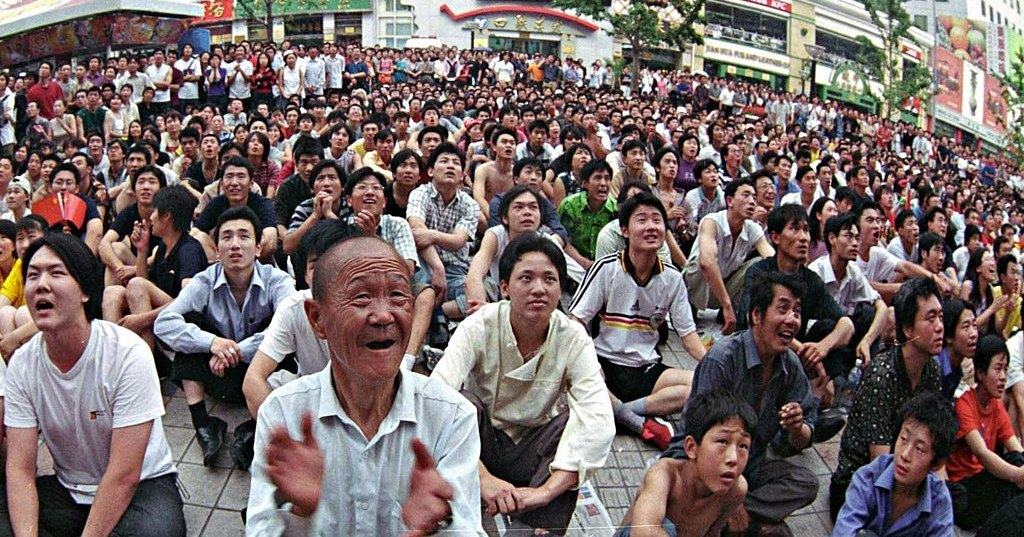 Количество китайцев превысило 1.4 миллиарда