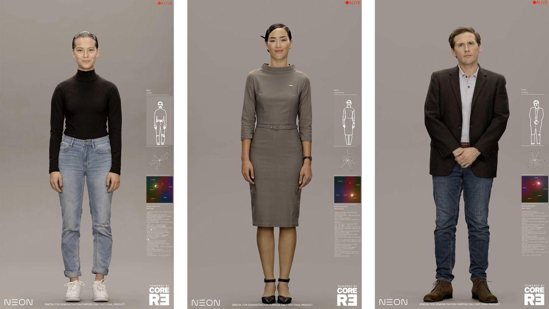 Проект Neon от Samsung: цифровые банкиры, телеведущие, компаньоны - 1