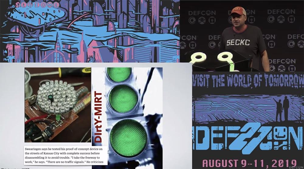 Конференция DEFCON 27. Взламываем полицию. Часть 1 - 6
