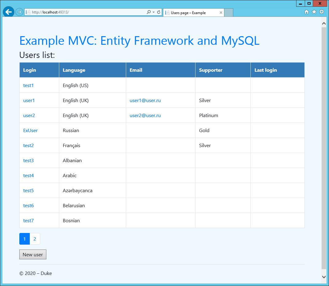 ASP.NET MVC — Entity Framework, MySQL и использование Dependency Resolver для выбора репозитория - 3