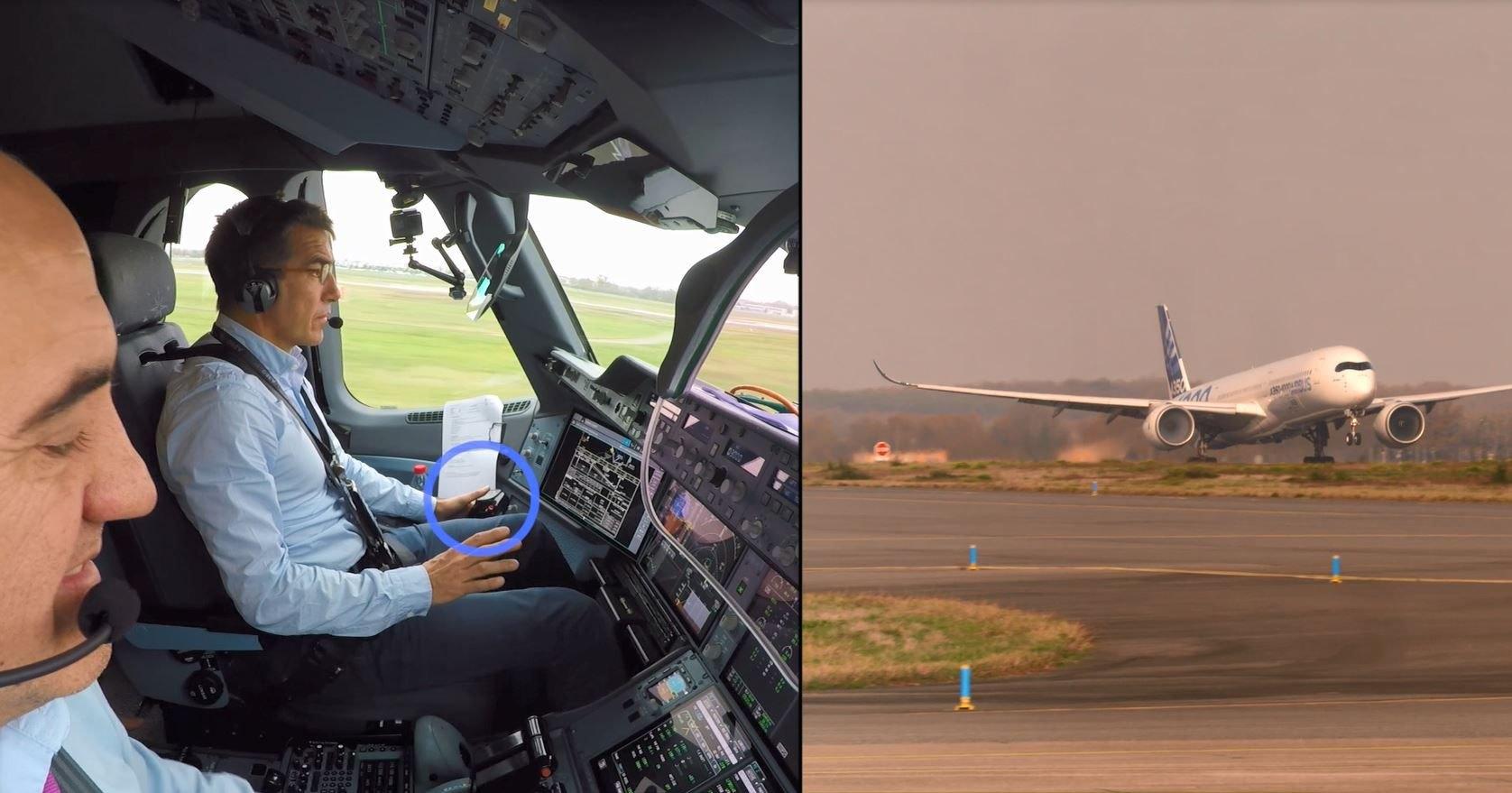 Airbus научил самолёты взлетать без вмешательства пилотов