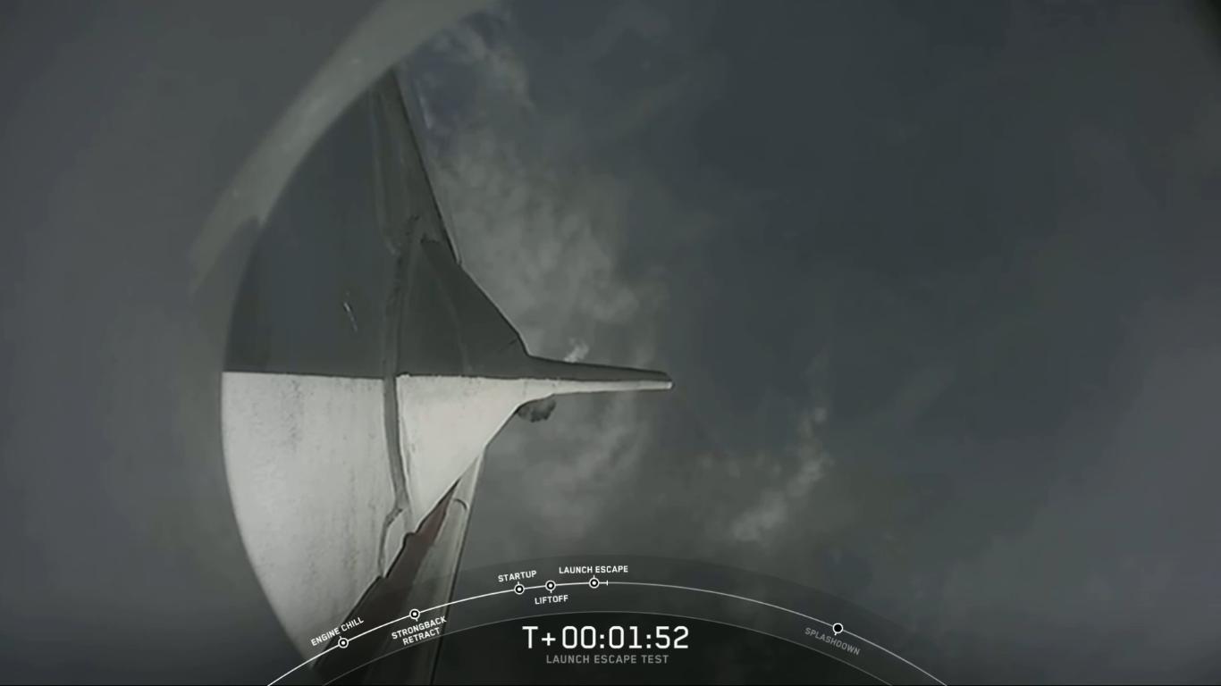 SpaceX успешно провела испытание системы спасения корабля Crew Dragon - 24