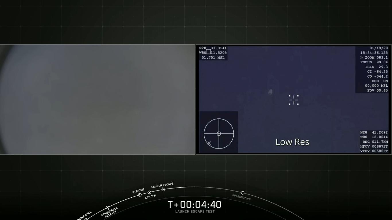 SpaceX успешно провела испытание системы спасения корабля Crew Dragon - 28