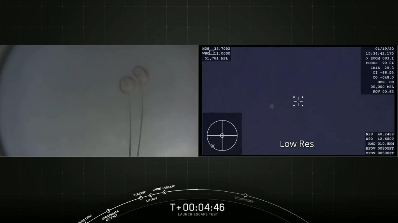 SpaceX успешно провела испытание системы спасения корабля Crew Dragon - 29