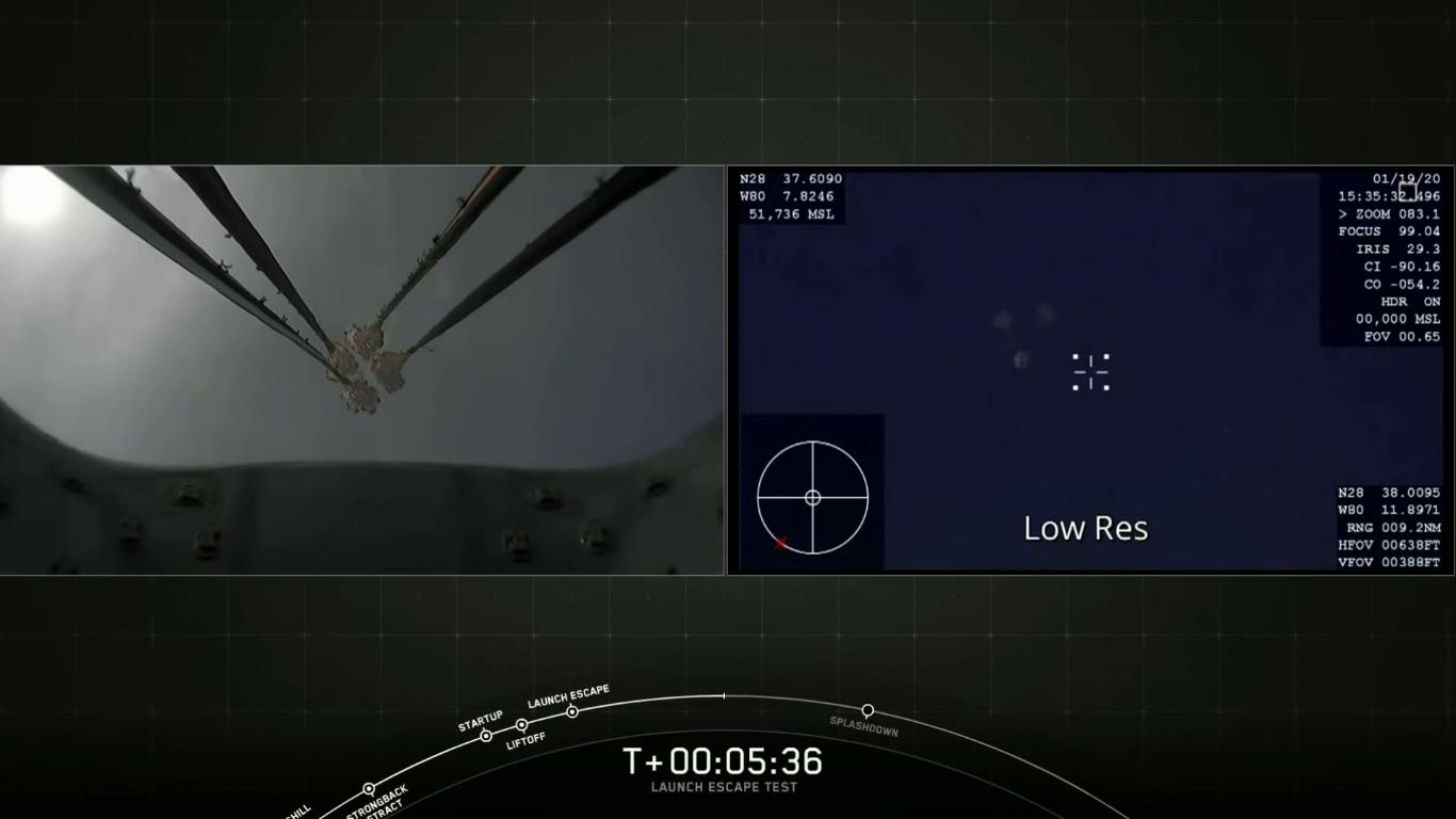SpaceX успешно провела испытание системы спасения корабля Crew Dragon - 32