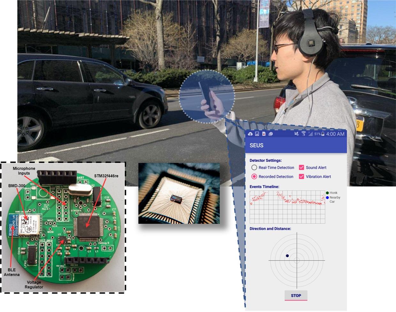 ИИ-система предупреждает пешеходов в наушниках о приближающемся автомобиле - 2