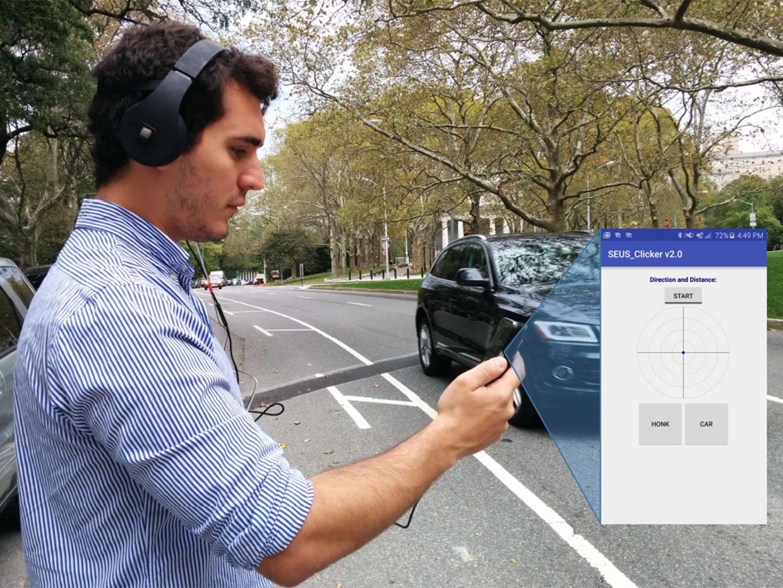 ИИ-система предупреждает пешеходов в наушниках о приближающемся автомобиле - 1