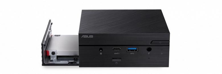Asus выпустила очень маленький мини-ПК с новейшими CPU Intel и хорошим набором портов