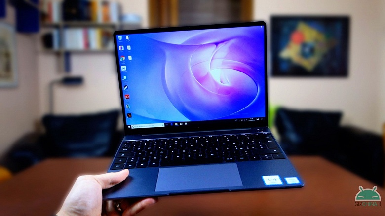 Характеристики MateBook 13 2020 Edition и других ноутбуков Huawei