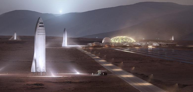 Илон Маск считает, что к 2050 году на Марсе будет жить около миллиона человек