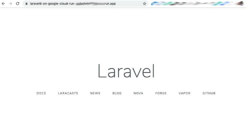 Пошаговое руководство по настройке Laravel 6 в Google Cloud Run с непрерывной интеграцией - 11