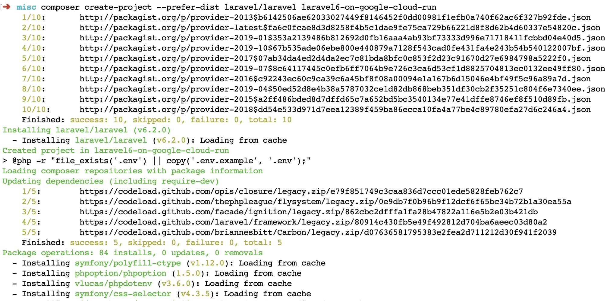 Пошаговое руководство по настройке Laravel 6 в Google Cloud Run с непрерывной интеграцией - 1