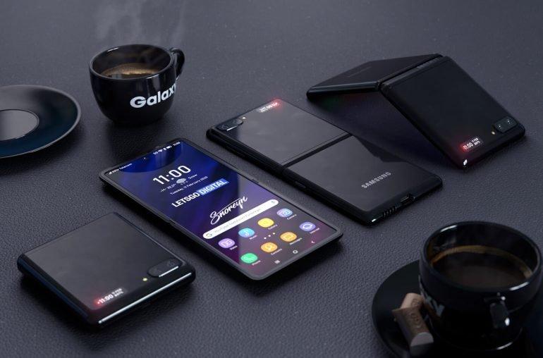 У Samsung Galaxy Z Flip 2 появится сенсорная прозрачная крышка, подэкранный дактилоскоп и стилус