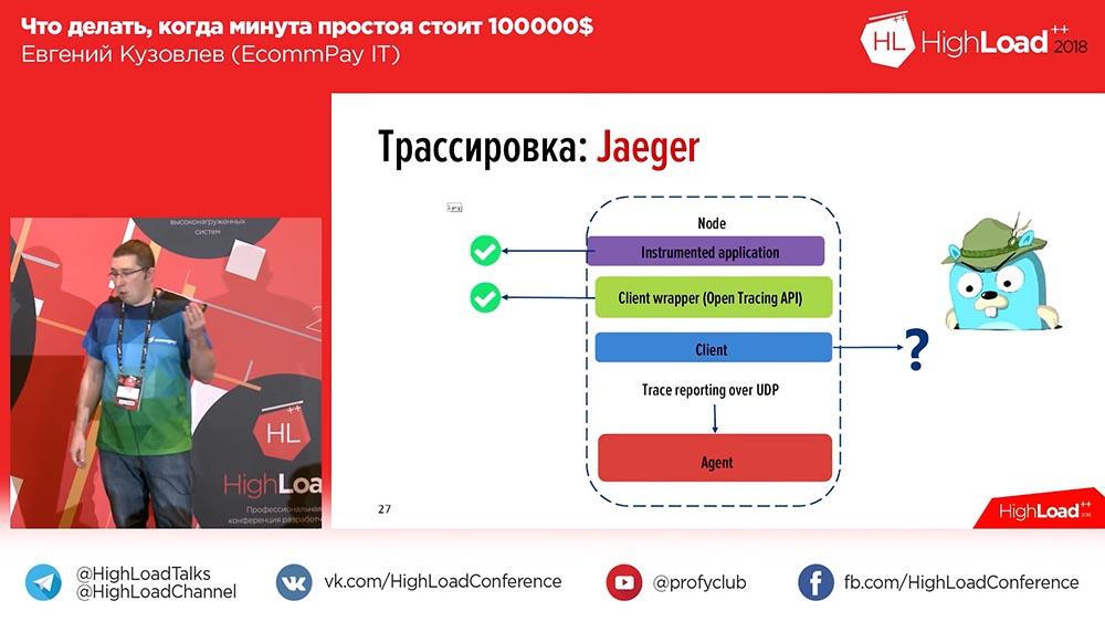 HighLoad++, Евгений Кузовлев (EcommPay IT): что делать, когда минута простоя стоит $100000 - 22