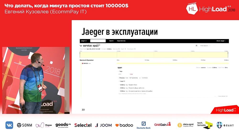 HighLoad++, Евгений Кузовлев (EcommPay IT): что делать, когда минута простоя стоит $100000 - 24