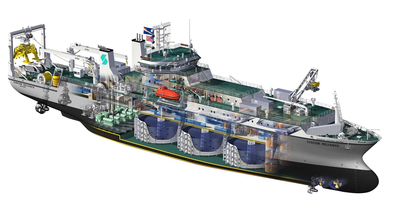 NEC выпустила подводный кабель с рекордными 20 парами оптических волокон - 6
