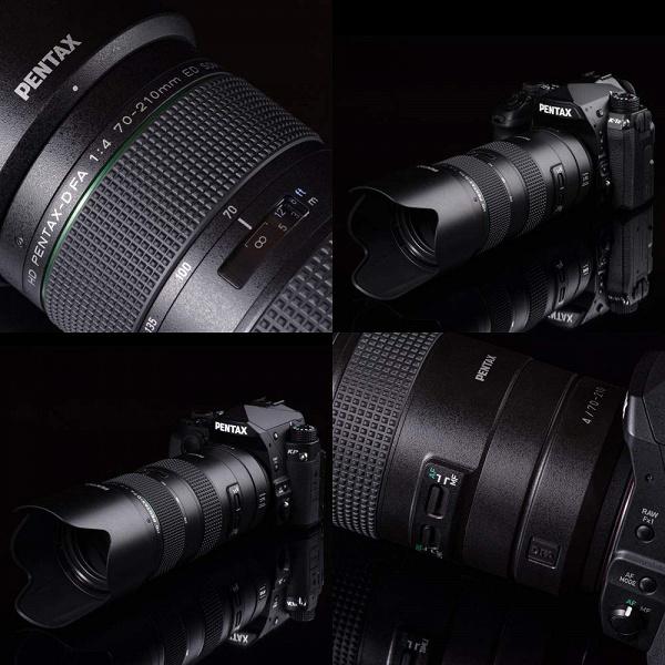 Появились дополнительные сведения об объективе HD Pentax-D FA 70-210mm f/4 ED SDM WR