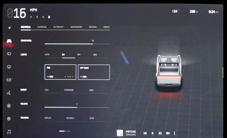 Видео дня: Tesla Cybertruck и новый дизайн интерфейса мультимедийной системы