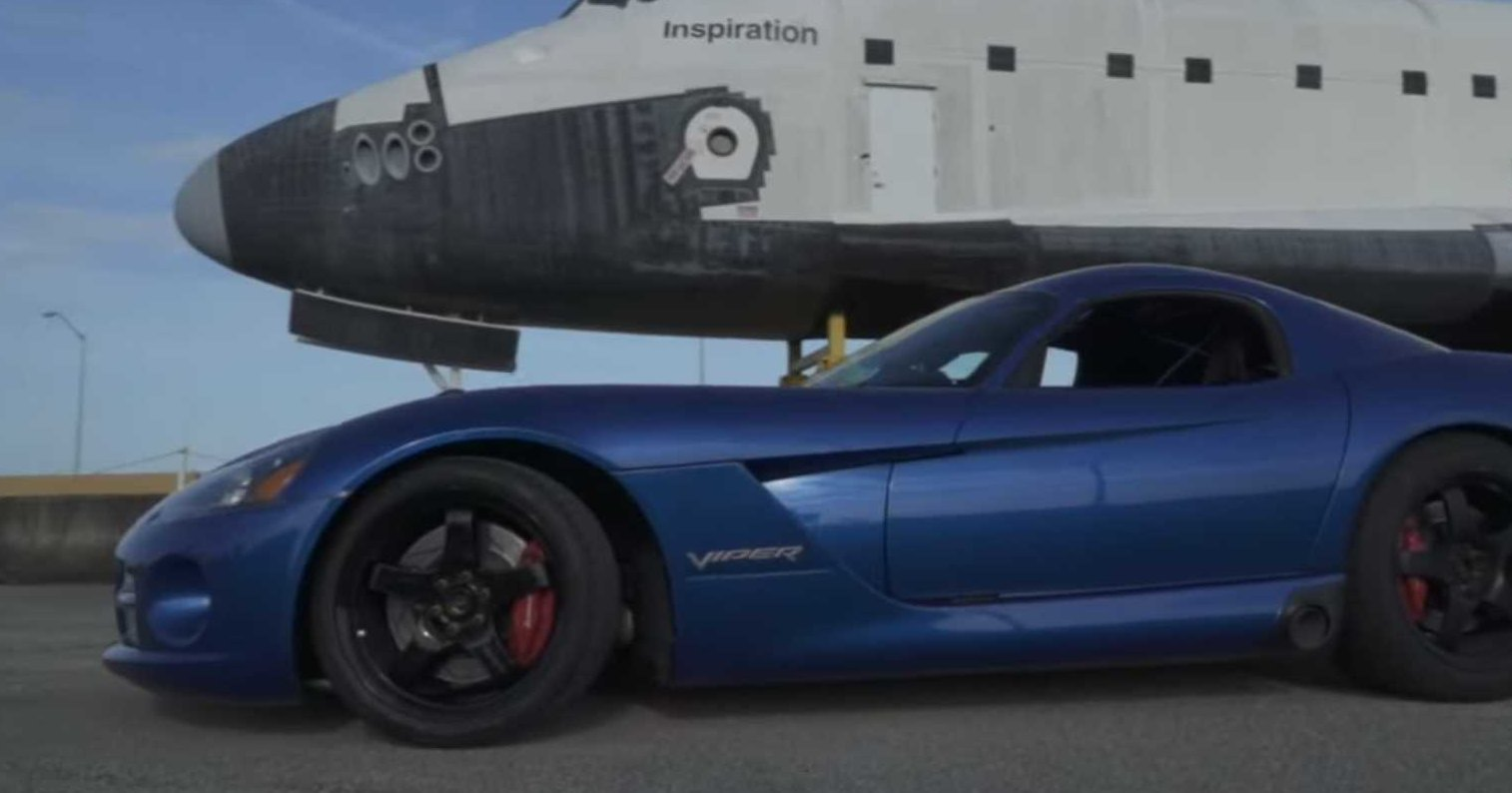 1400-сильный Dodge Viper установил новый рекорд скорости