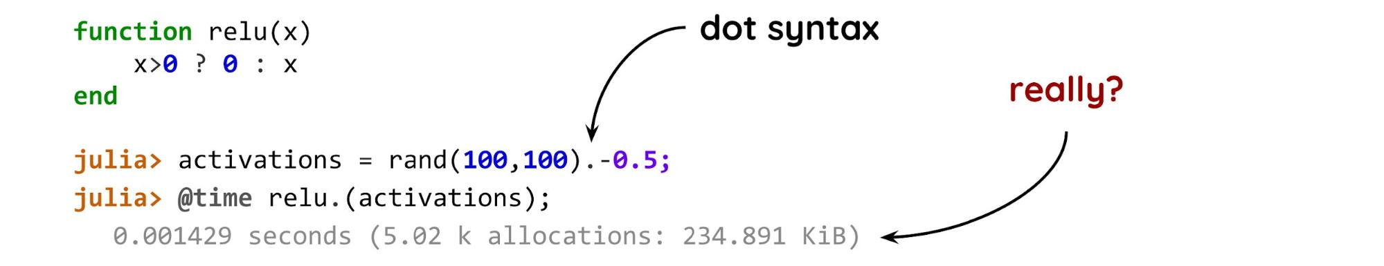 А что, если без Python? Julia для машинного обучения и вообще - 6