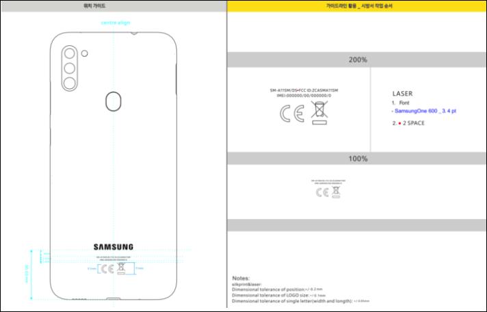 Преемник Samsung Galaxy A10 получил тройную камеру и аккумулятор емкостью 4000 мА·ч