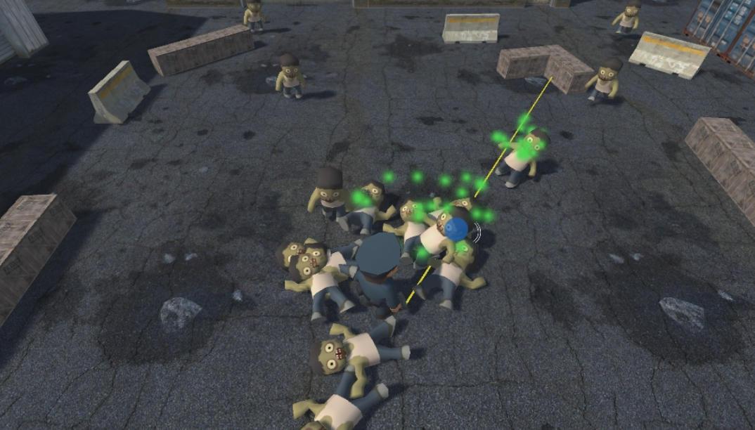 Простой зомби-шутер на Unity - 1