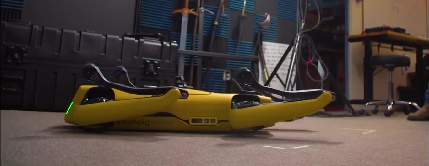 Адам Севидж начал годовое тестирование робота Boston Dynamics Spot на YouTube-канале Tested - 3