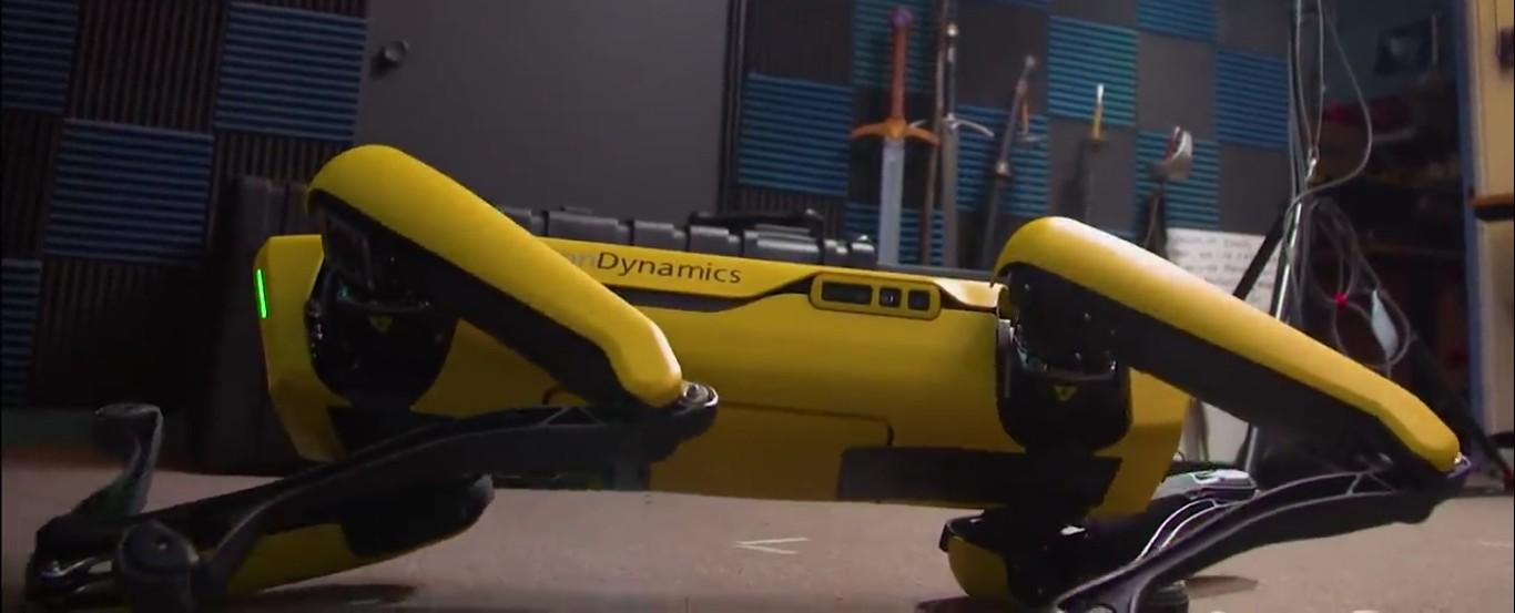 Адам Севидж начал годовое тестирование робота Boston Dynamics Spot на YouTube-канале Tested - 4