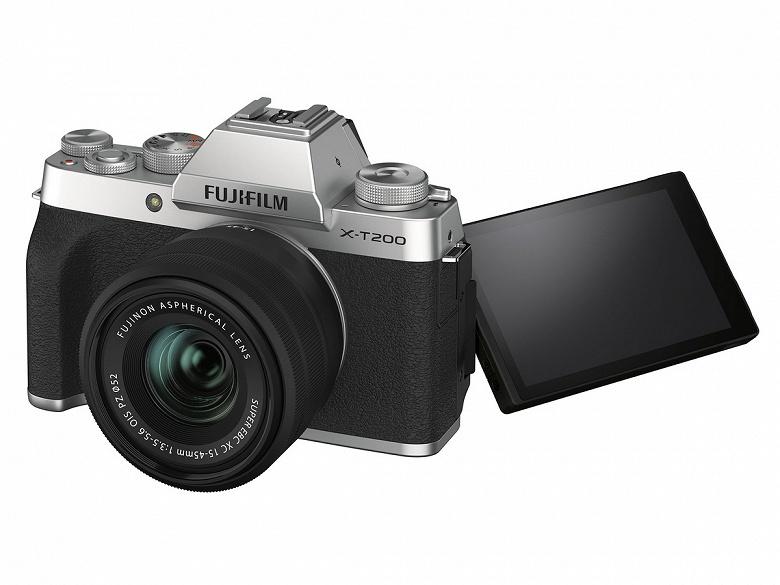 Представлена камера Fujifilm X-T200