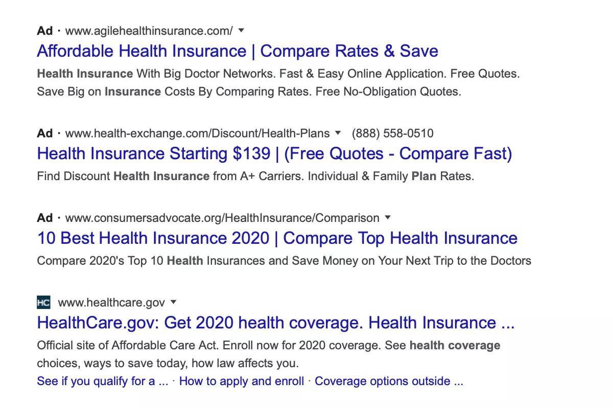 Вся выдача Google теперь выглядит как реклама - 1