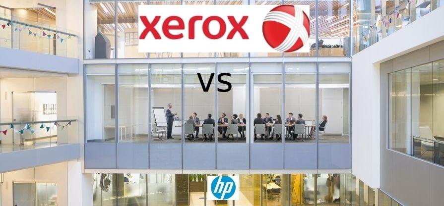 Xerox начала реализовывать план по враждебному поглощению HP - 1