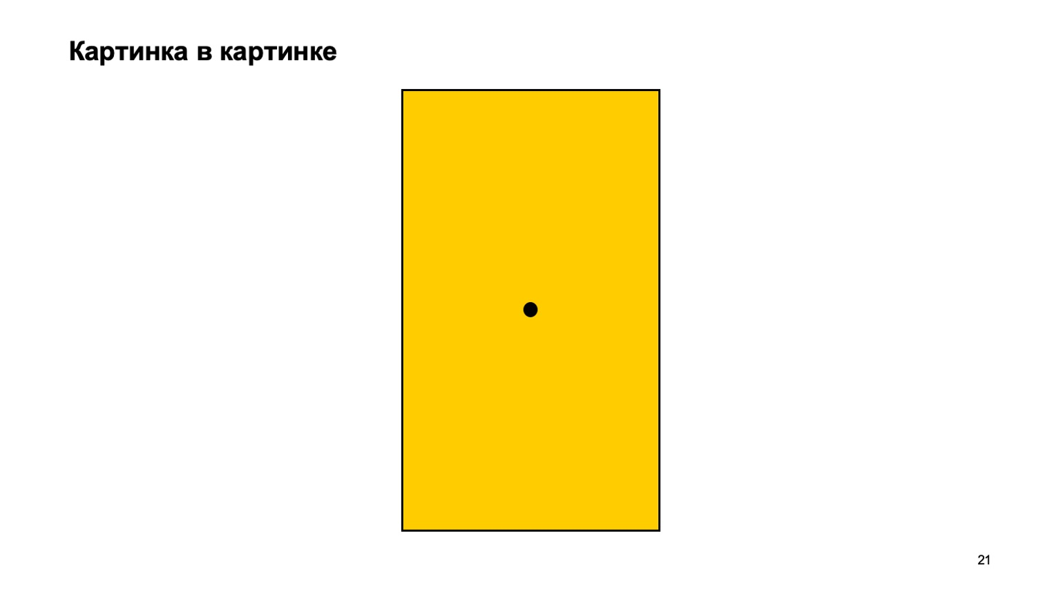 Мобильная разработка — это просто и скучно? Доклад Яндекса - 21
