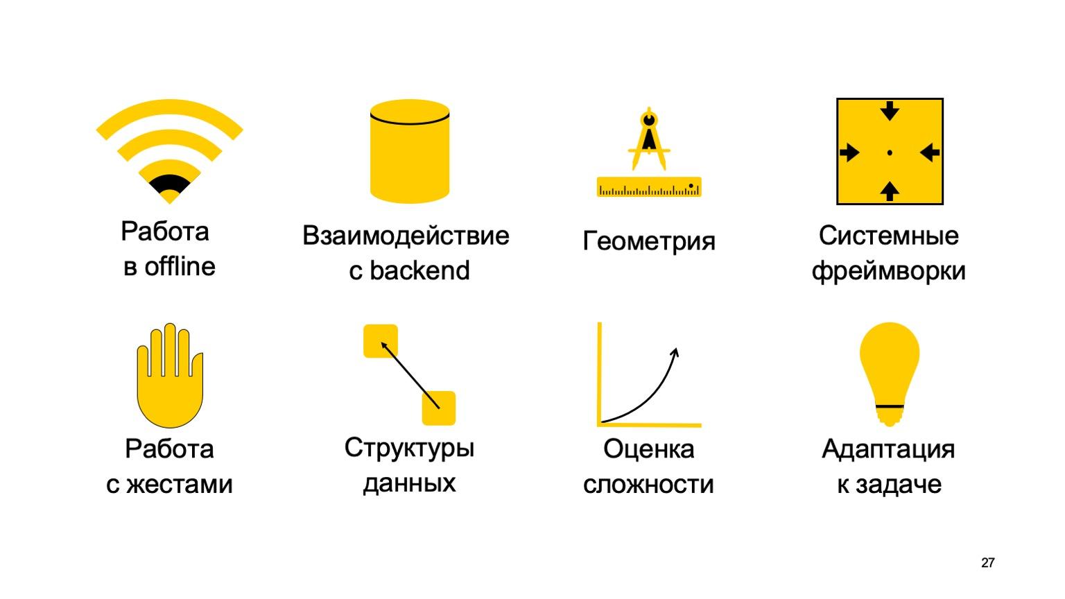 Мобильная разработка — это просто и скучно? Доклад Яндекса - 27