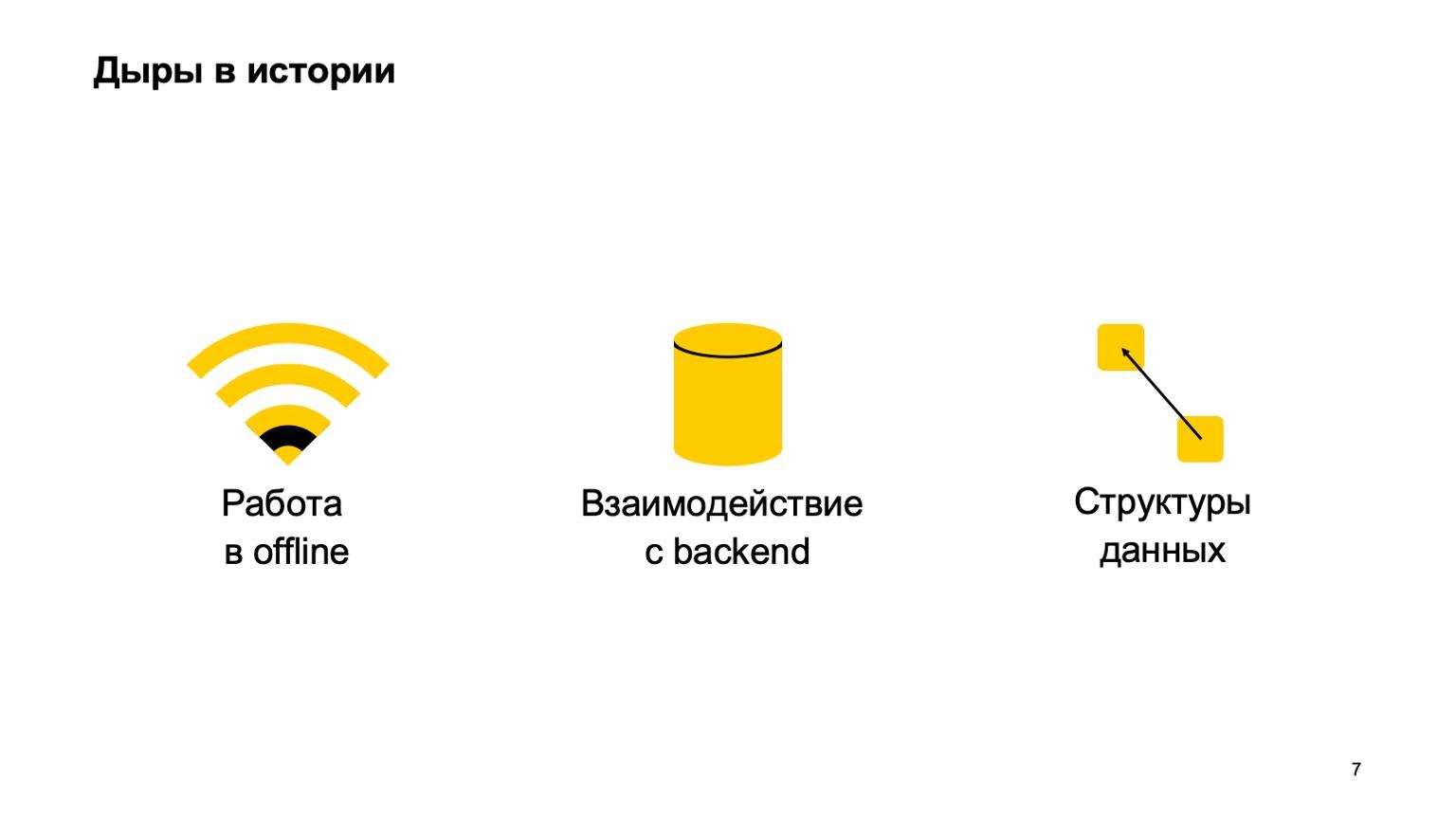 Мобильная разработка — это просто и скучно? Доклад Яндекса - 7