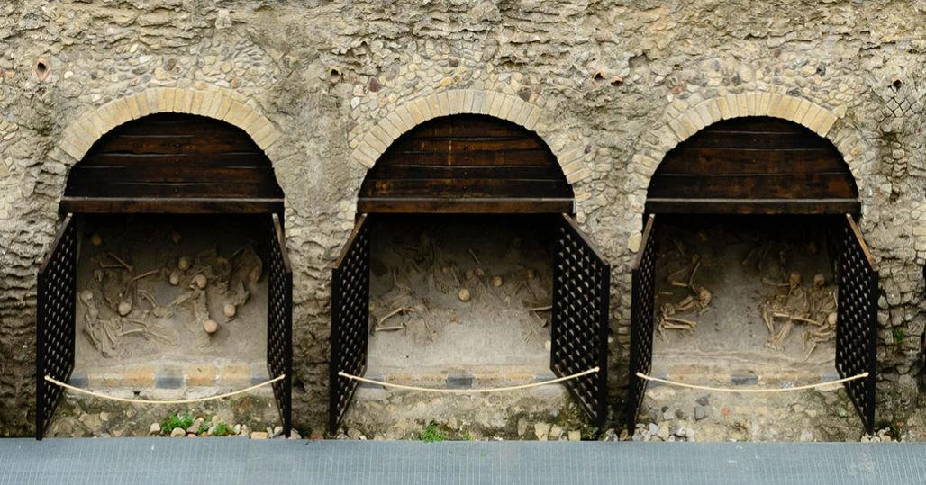 Найдены новые свидетельства мучений жертв Везувия