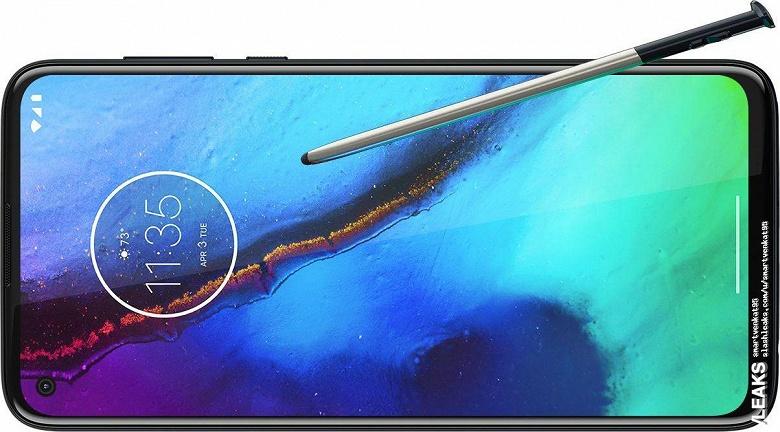 Недорогой конкурент Samsung Galaxy Note10 на первом официальном изображении