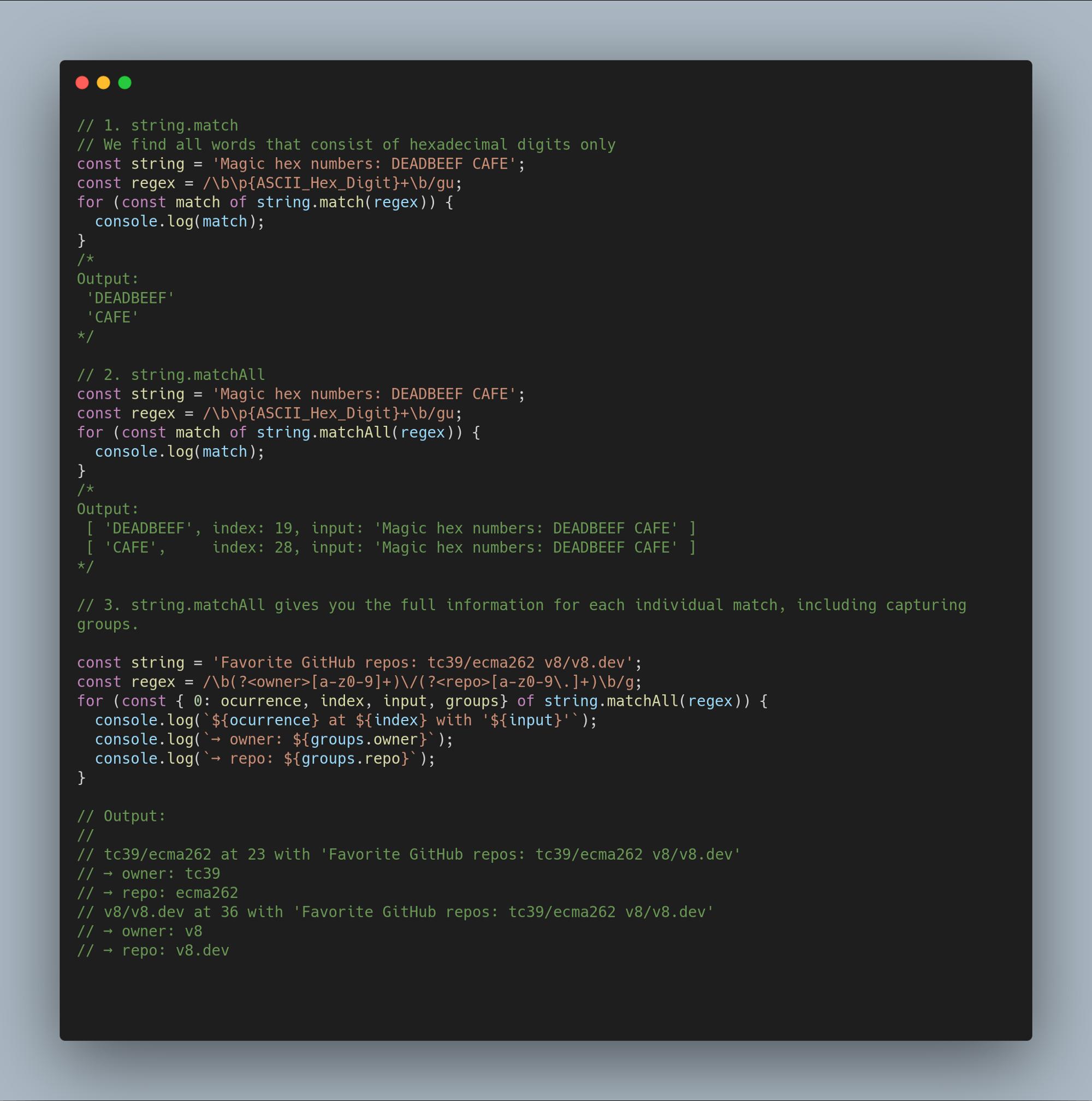 Нововведения JavaScript ES2020 с простыми примерами - 2