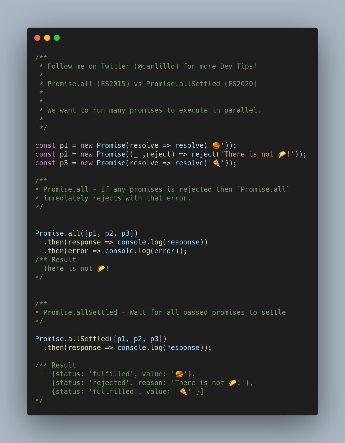 Нововведения JavaScript ES2020 с простыми примерами - 5