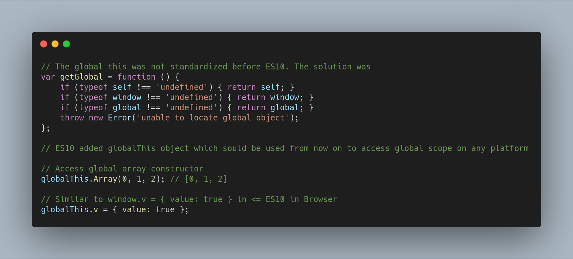 Нововведения JavaScript ES2020 с простыми примерами - 6