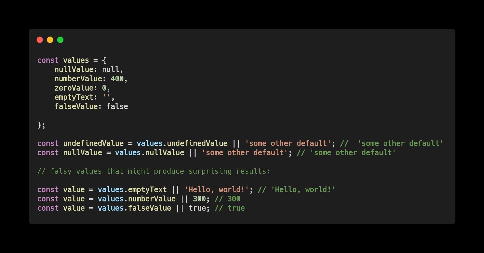 Нововведения JavaScript ES2020 с простыми примерами - 7