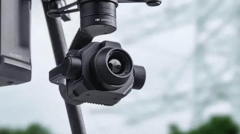 Тепловизор DJI Zenmuse XT-S предназначен для дронов DJI Matrice серии 200