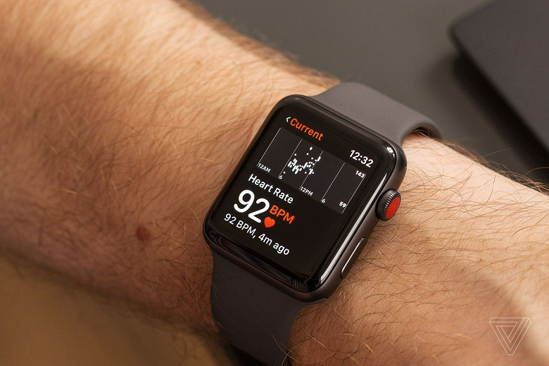 В часах Apple Watch, выпускаемых с 2014 года, нарушен патент, выданный в 2019 году