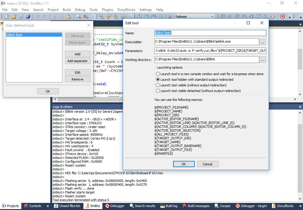 EBlink — GDB сервер для ARM Cortex-M микроконтроллеров - 2