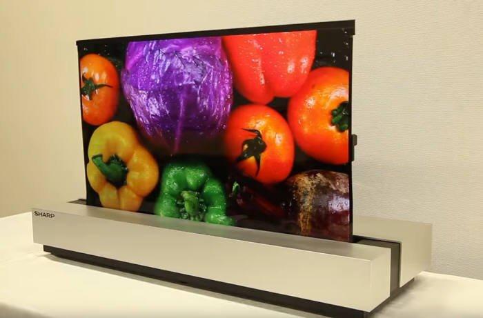 Sharp выходит на рынок телевизоров OLED