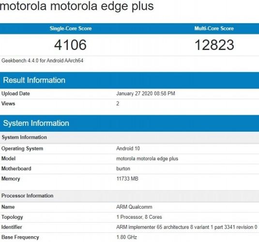 Конкурент Samsung Galaxy Note10 получил SoC Burton и 12 ГБ ОЗУ