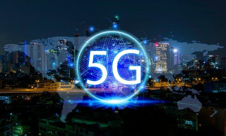 В России запустили первую промышленную сеть 5G. Скорость 870 Мбит/с