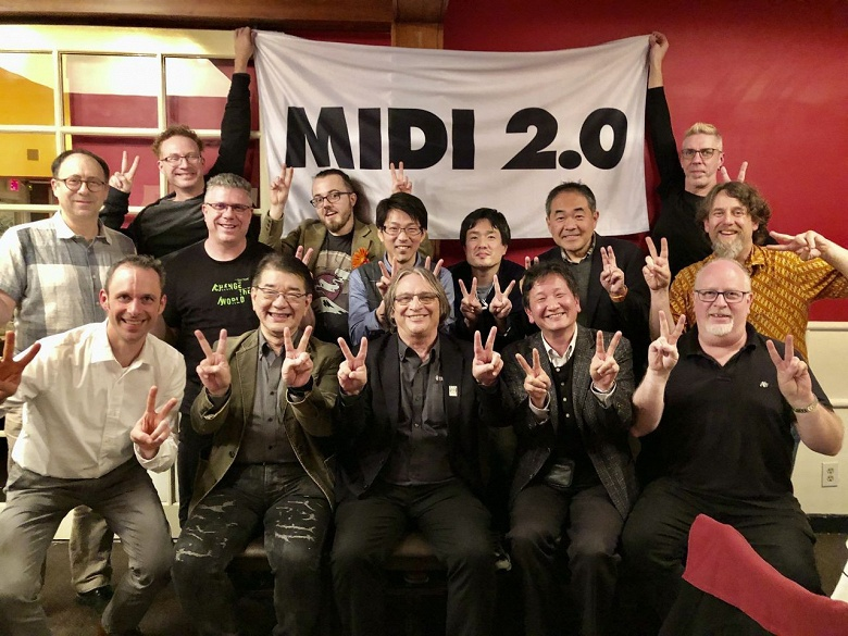 Приняты спецификации MIDI 2.0