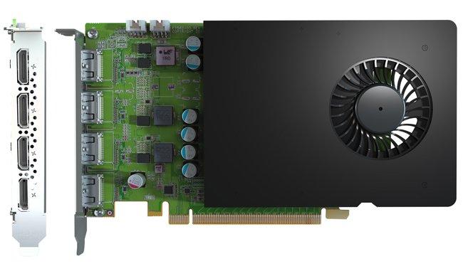 Видеокарты Matrox D-Series D1450 и D-Series D1480 предназначены для видеостен